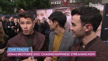 Triple Date Night! The Jonas Brothers Take Their Wives to the Premiere of 'Chasing Happiness'
