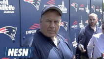 Bill Belichick On The Progress Of His Team At Patriots Minicamp