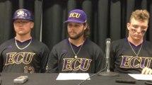 ECU players react to winning Greenville Regional