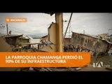 Habitantes de Chamanga esperan obras tras tres años del terremoto - Teleamazonas