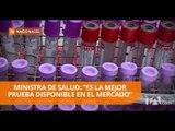 Ministra de Salud defiende calidad de los kits de detección de VIH - Teleamazonas