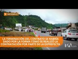 Se queda sin financiamiento el tramo Unión del Toachi en la vía Alóag-Santo Domingo - Teleamazonas