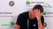"""Roland-Garros 2019 - Stan Wawrinka : """"Je vais me reposer un petit peu, ensuite, il faut repartir sur le gazon tout de suite"""""""