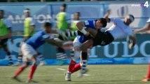 Le monstrueux plaquage d'un U20 français sur un fidjien