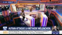 Autain attaque la méthode Mélenchon