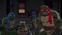 Batman vs. TMNT Movie clip -Batman vs Turtles