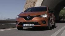 2019 All-new Renault CLIO in Orange Valencia Driving in Portugal
