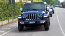 Jeep Wrangler On Road Driving