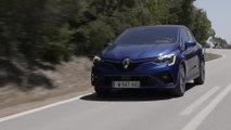 2019 All-new Renault CLIO in Blue Iron Driving in Portugal