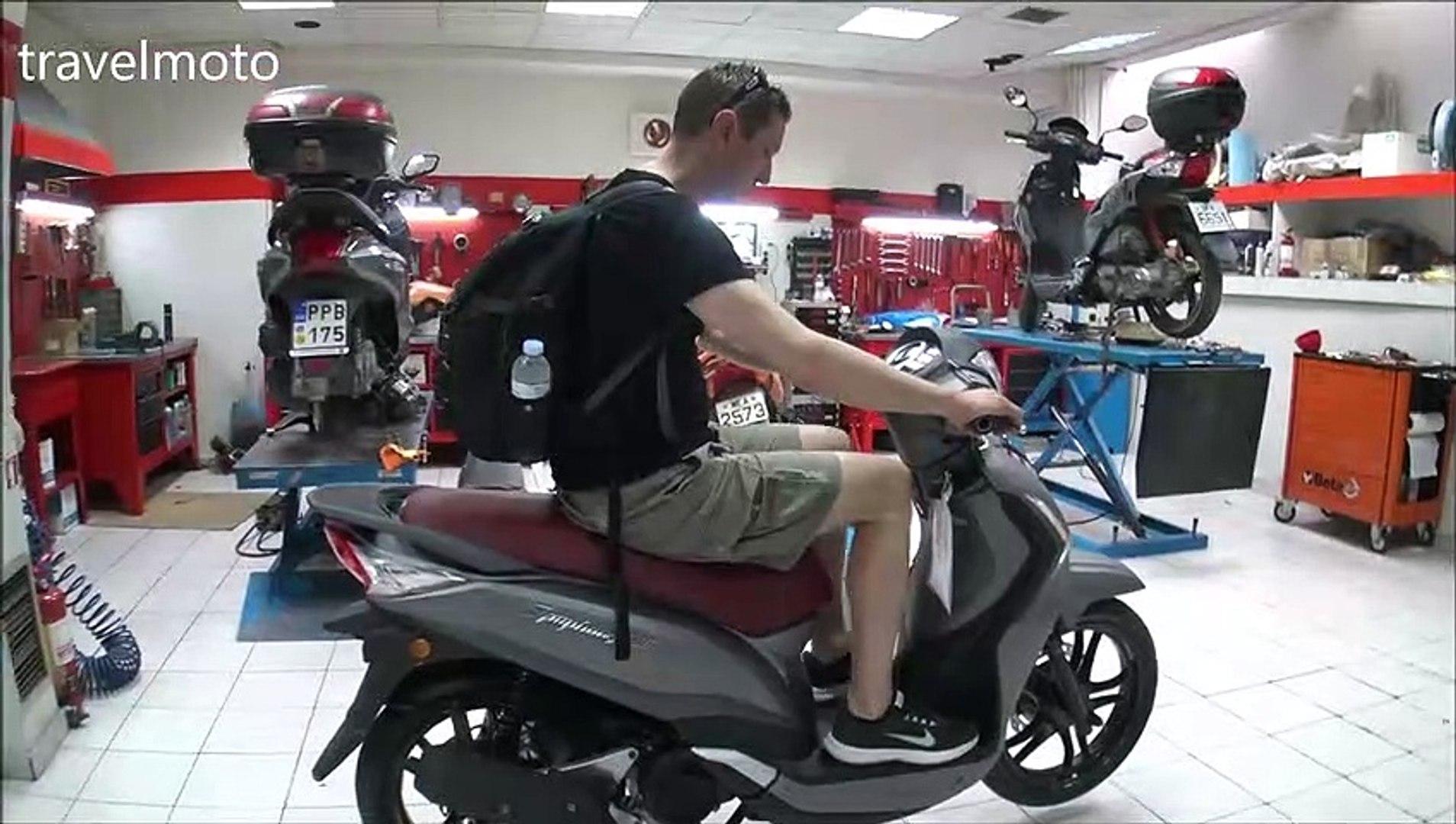 SYM Symphony ST 125cc scooter review 2019