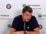 """Roland-Garros - Wawrinka : """"J'ai fait avec ce que j'avais aujourd'hui"""""""