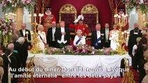 La Reine Elizabeth II organise un banquet pour Donald Trump