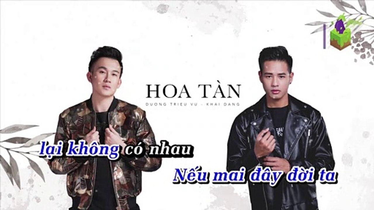 [Karaoke] Hoa Tàn - Dương Triệu Vũ Ft. Khải Đăng [Beat]