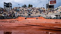 Rain Washes Out French Open Day