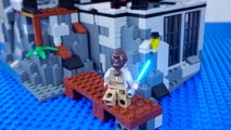 LEGO Star Wars Brick Building STOP MOTION | Transporter Pod | LEGO Star Wars Sets | By LEGO Worlds