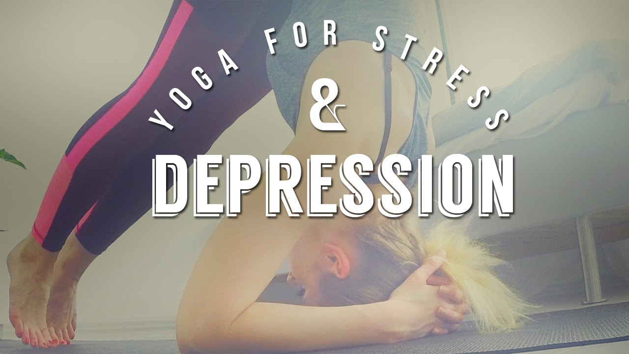 Yoga for Depression – Stress / 10-minute Yoga Routine
