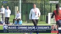 Rigoureuse, exigeante... Qui est la sélectionneure de l'équipe de France Corinne Diacre ?