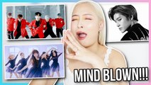 NCT127, OH MY GIRL AND A.C.E MV REACTION CATCHING UP ON KPOP