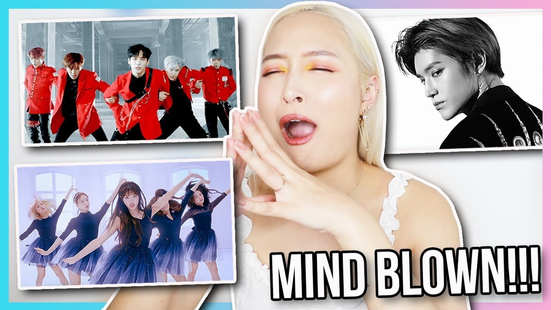 Nct127 Oh My Girl And Ace Mv Reaction Catching Up On Kpop