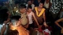 कानपुर में पुलिस जीप से युवक की मौत, लोगों ने किया पुलिस पर पथराव