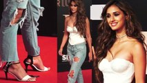 Disha Patani gets trolled badly for her THIS look at Bharat screening; Watch video | FilmiBeat