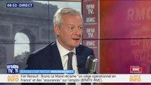 """Taxer le kérosène? Bruno Le Maire dit """"oui"""", """"mais au niveau international"""""""
