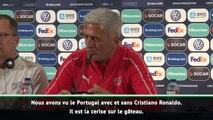 Demies - Petkovic : ''Ronaldo est la cerise sur la gâteau du Portugal''