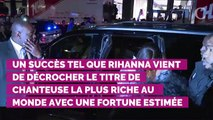 Rihanna surpasse Madonna et Beyoncé et est désormais la chanteuse la plus riche du monde