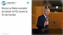 FDJ. Bruno Le Maire veut privatiser la Française des Jeux «d'ici la fin de l'année»