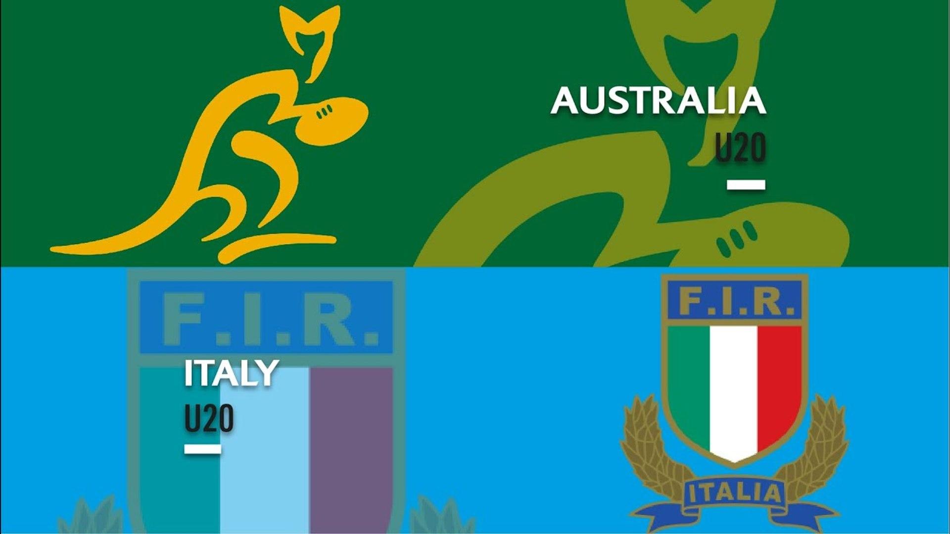 U20s Highlights: Australia beat Italy
