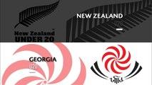 U20s Highlights: New Zealand beat Georgia