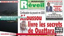 Le Titrologue du 05 Juin 2019 : Confiscation du pouvoir en 2020, Ahoussou livre les secrets de Ouattara
