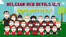 La vidéo géniale de la Belgique pour annoncer sa liste des U21