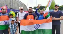 ICC World Cup 2019, India vs South Africa, Peoples supporting India by the Slogan, चक दे इंडिया