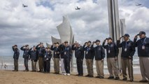 WWII veterans and world leaders gather in Normandy for D-Day anniversary