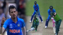 World Cup 2019 IND vs SA: Yuzvendra Chahal strikes twice in over,Faf & Dussen departs|वनइंडिया हिंदी