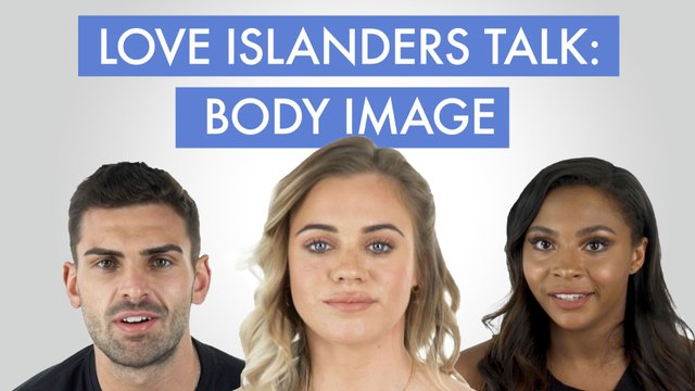 Former cast of Love Island talks about body image