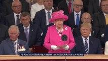 D-Day: la Reine Elizabeth II remercie les soldats du Débarquement dans son discours de clôture