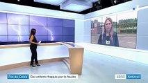 Pas-de-Calais : le pronostic vital d'un enfant frappé par la foudre toujours réservé