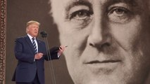 Trump reads prayer from FDR on D-Day anniversary