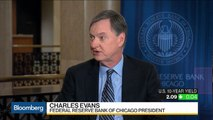 Fed's Evans: Prudent to Look at Monetary Policy Setting