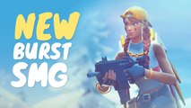 NEW BURST SMG replaces VAULTED SUPPRESSED SMG | Fortnite Moments