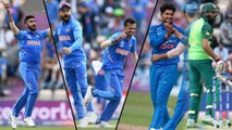 ICC Cricket World Cup 2019 : South Africa Struggles To Bat As Indian Bowlers Excels