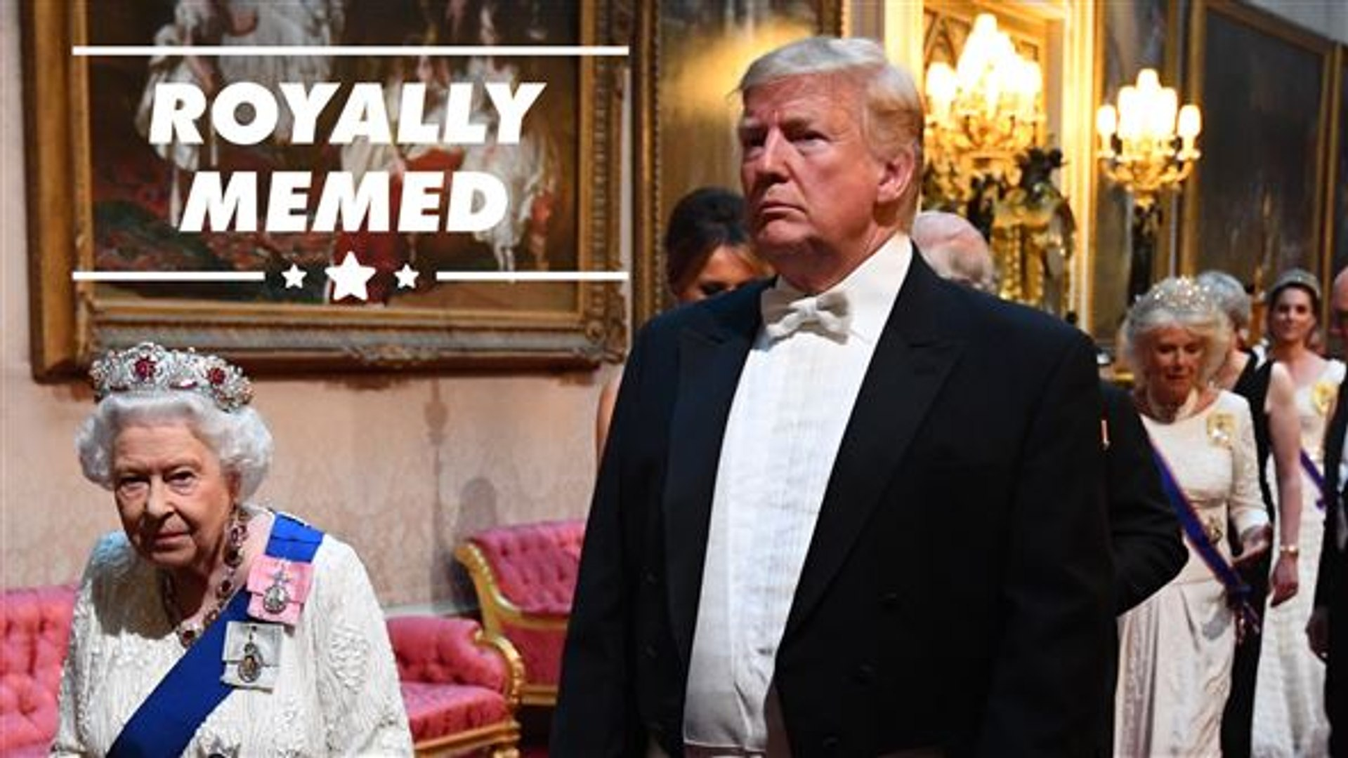 The best memes to come from Trump's UK visit