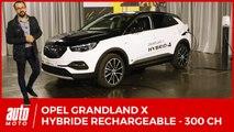 Opel Grandland X Hybrid4 : 300 ch vertueux