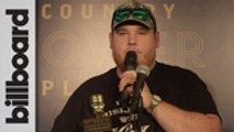 Luke Combs Receives Award at 2019 Billboard Country Power Players Event   Billboard