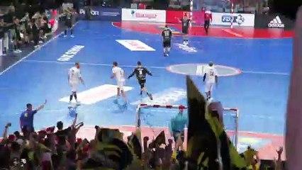 B.Richert impeccable aux 7m - Finale Coupe de France 2019 - Chambéry 31 21 Dunkerque