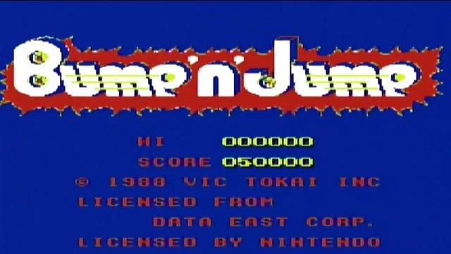 Playing BUMP 'N' JUMP - Nintendo Entertainment System (1988)