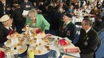Theresa May meets D-Day veterans