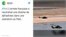 L'armée française a neutralisé une dizaine de djihadistes dans une opération au Mali